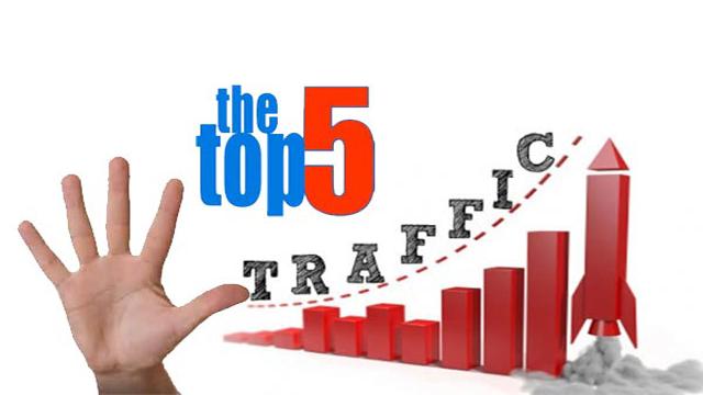 Top 5 chiến thuật giúp tăng traffic cho blog của bạn 2016