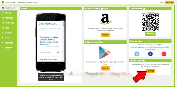 Tutorial Lengkap: Cara Membuat Aplikasi Web Android di