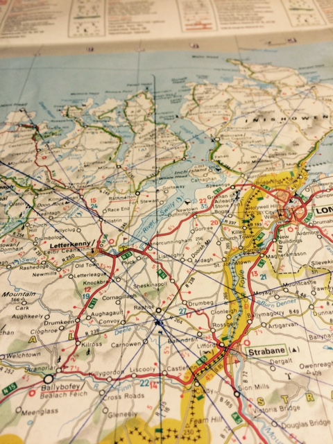 Ancient Map Of Ireland.Insider S Guide To Donegal The Map Of Ancient Ireland