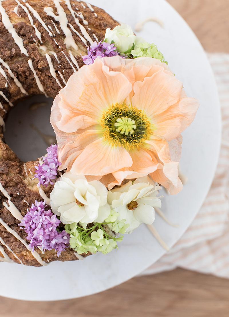 Delicious Spring Coffee Cake