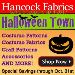 Hancock Fabrics coupons april