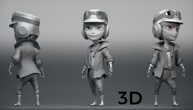 Layanan Pemodelan 3D