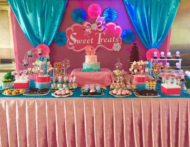 Dessert Buffet Setup