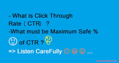 What is Click Through Rate (CTR ) in Adsense -Technical Arp
