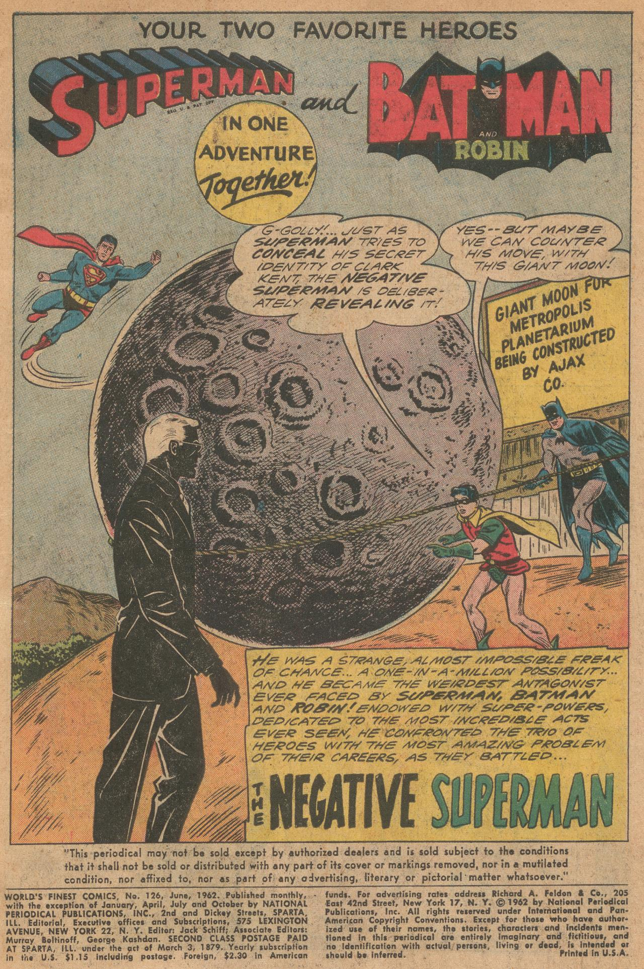 Read online World's Finest Comics comic -  Issue #126 - 2