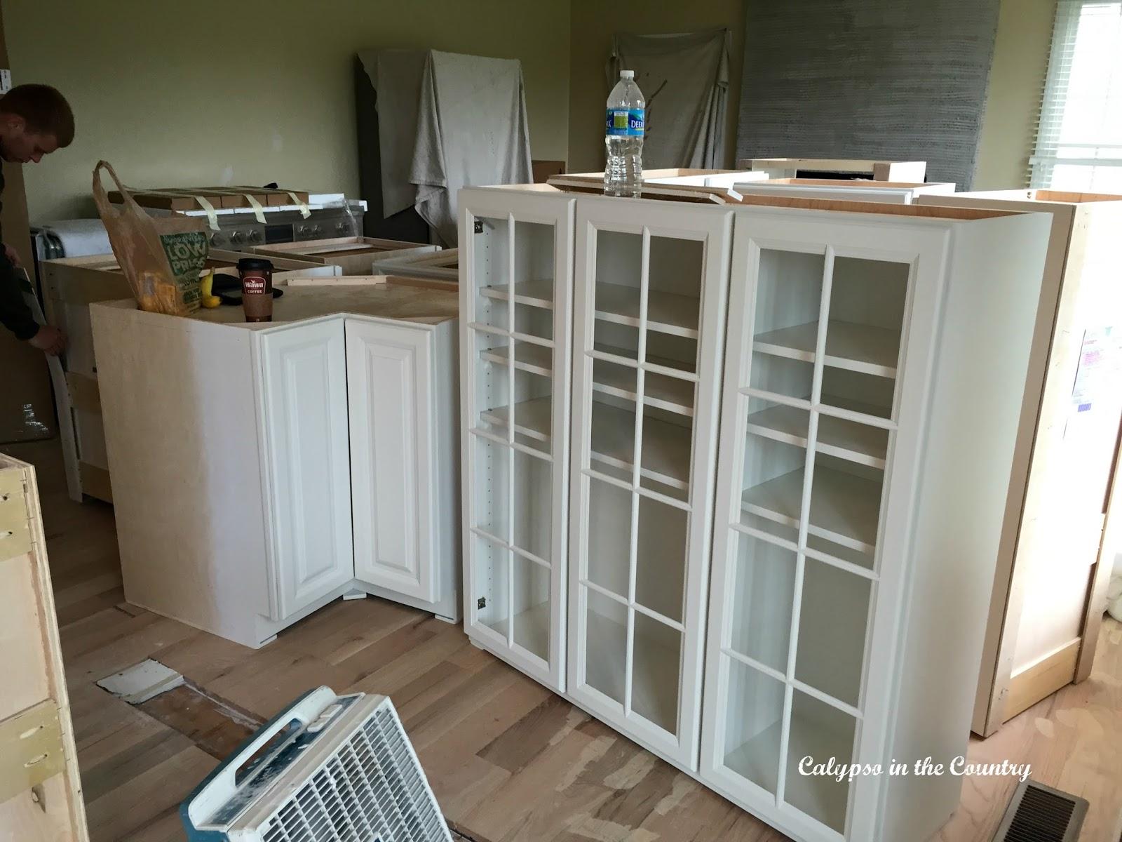 Renovation Progress - kitchen cabinets