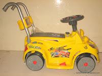 3 Mobil Mainan Aki Wimcycle Hotwheels Built for Speed Small dengan Kendali Jauh