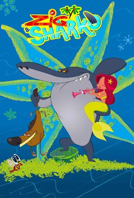 Series Phim Hoạt Hình Vui Nhộn Zig And Sharko