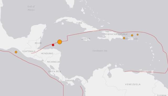 Terremoto de 7,6 en el Caribe genera alerta de tsunami para México y Puerto Rico