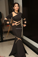 Pranitha Subhash in a skin tight backless brown gown at 64th Jio Filmfare Awards South ~  Exclusive 163.JPG