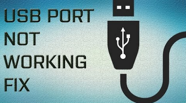 USB Not Working
