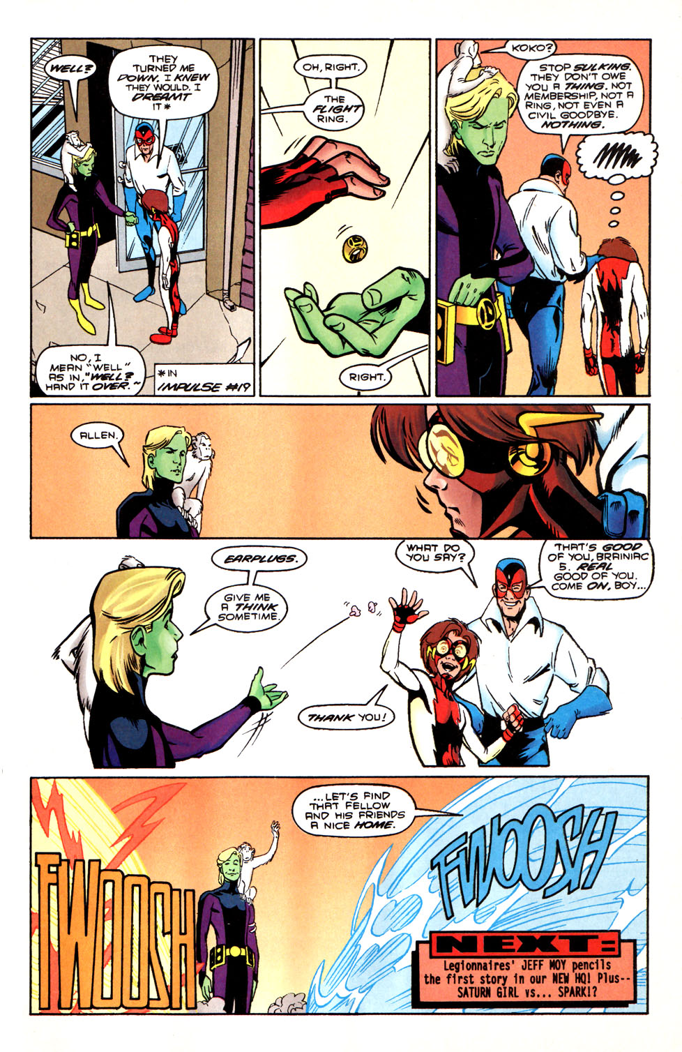 Legion of Super-Heroes (1989) 88 Page 22