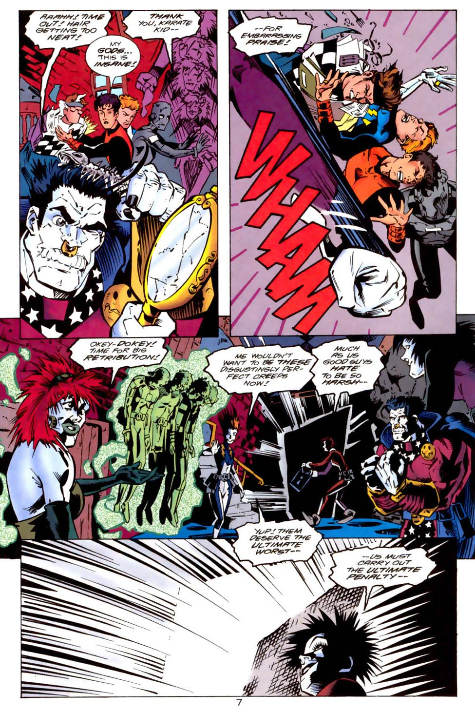 Legion of Super-Heroes (1989) 114 Page 7