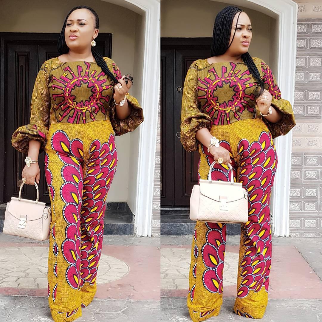 The Benin Girls Blog Ankara Jumpsuit Inspiration