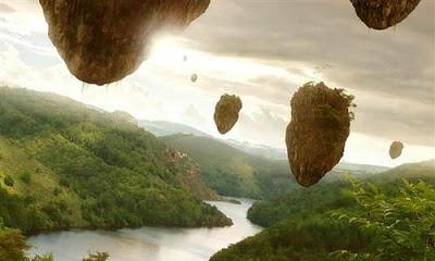 Membuat Pulau Melayang di Photoshop