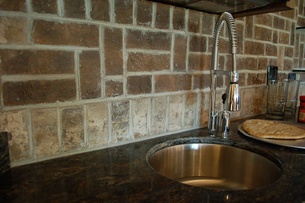 brick tiles for backsplash in kitchen brick driveway image brick backsplash tile 9316