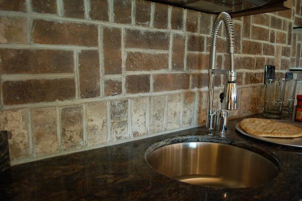 Brick Driveway Image: Brick Backsplash Tile