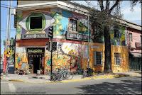 Santiago, Chile, Chili, Barrio Bellavista