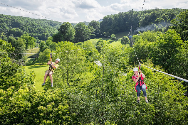 High Gravity Zip Line Adventure in Blowing Rock,NC
