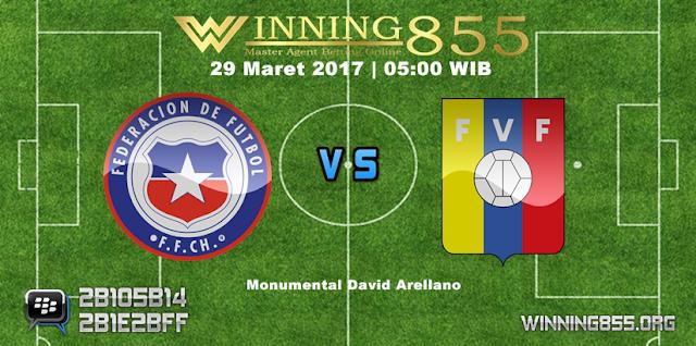 Prediksi Skor Chile vs Venezuela 29 Maret 2017
