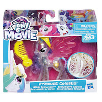 MLP the Movie Princess Celestia Glitter Celebration Brushables