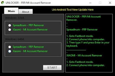 Xiaomi Mi Account Spreadtrum Frp Remove Tool Free Download
