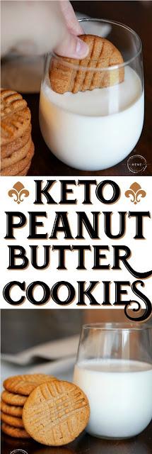 Easy 3 Ingredient Keto Peanut Butter Cookies Recipe