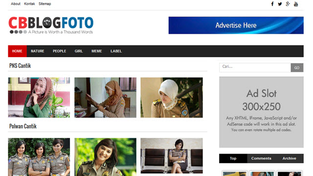 CB Blog Foto - Photo Gallery Responsive Blogger Templates ...