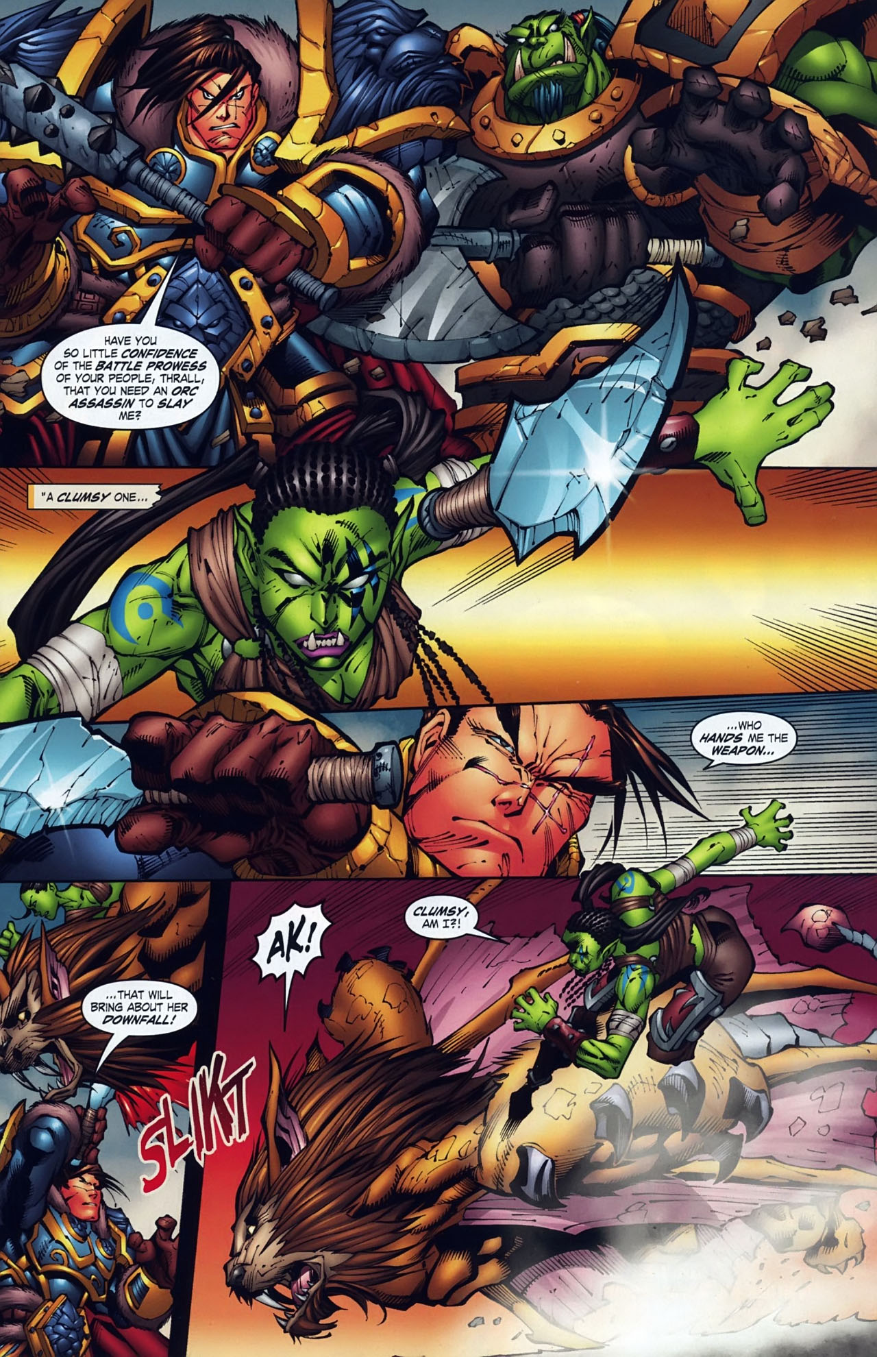 Read online World of Warcraft comic -  Issue #18 - 2