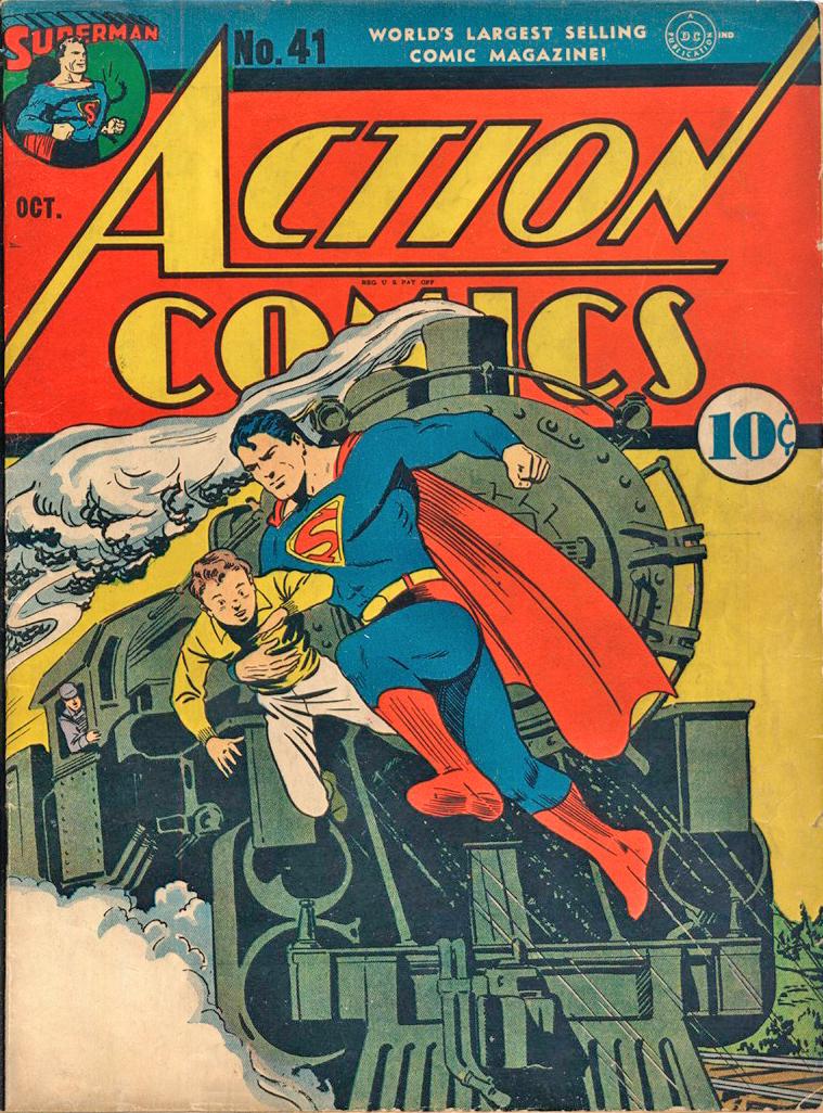 Action Comics (1938) 41 Page 1