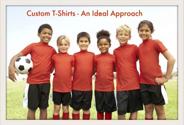 Custom T-Shirts - An Ideal Approach