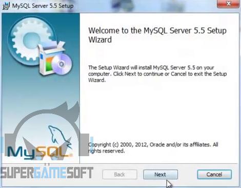Pasang MySQL Servernya
