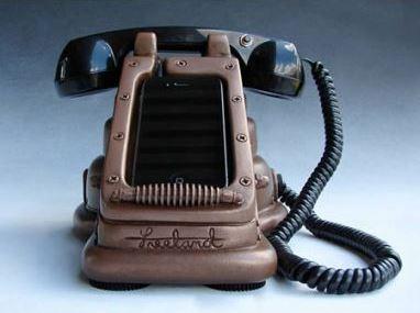 Charger Telepon Klasik Unik