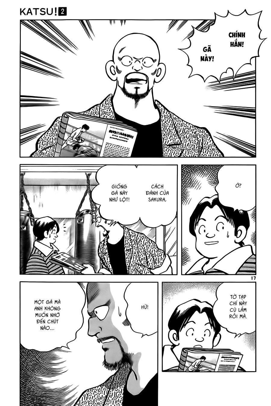 Katsu! chương 011: a, nhớ rồi! trang 19