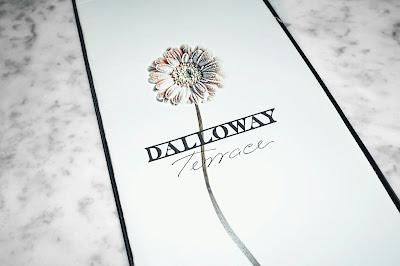Dalloway Terrace menu