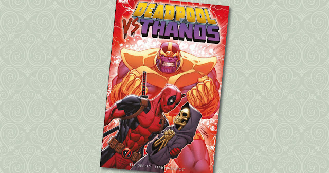 Deadpool VS Thanos Panini Cover