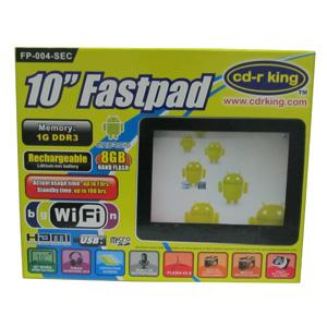 CD-R KING 10-inch Fastpad FP-004-SEC