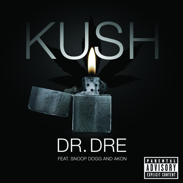 Dr. Dre - Kush (feat. Snoop Dogg & Akon) - Single Cover