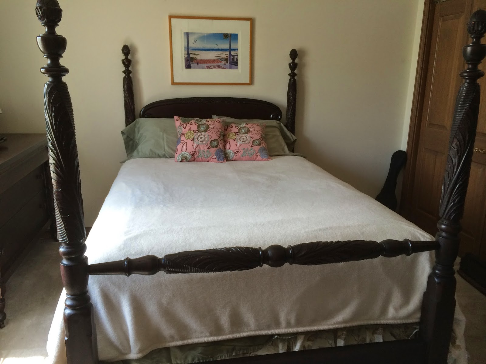 A New Chapter Diy Converting Antique Bed To Queen Mattress