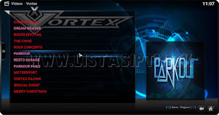 "Como Instalar o Add-on ""Vortex"" no KODI - Eventos de Corridas, Parlour Fails, Epic Fails e Mais"