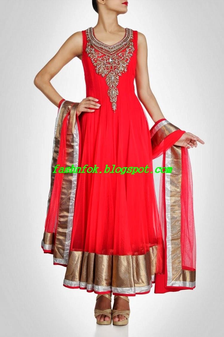 Fashion Amp Fok Bollywood Famous Designer Anarkali Brides