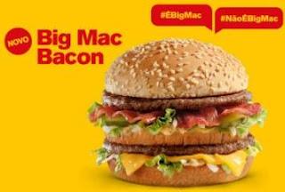 Novo Big Mac 2018 Novidade Mc Donadl's