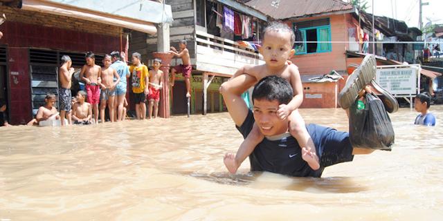 BMKG: Indonesia Diprediksi Hujan Lebat Pada 7 Maret 2017