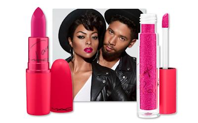 Taraji P. Henson Mac Viva Glam Lipstick Lipglass