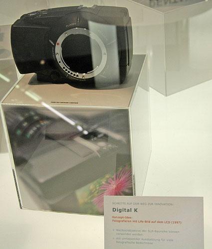 Концепт Pentax Digital K на выставке