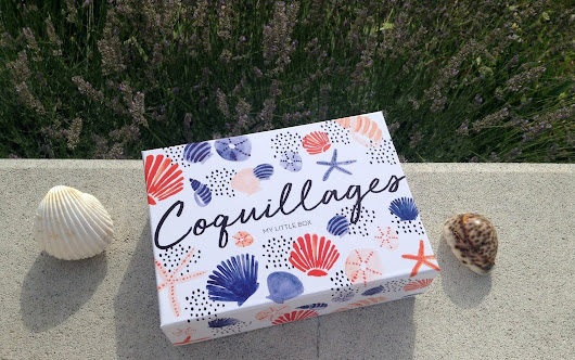 My Little Box Juillet 2017: Coquillages