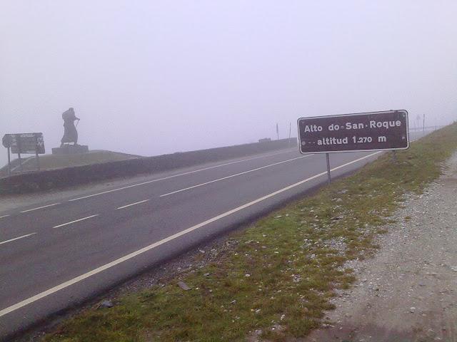 Alto de San Roque en Pedrafita de O Cebreiro