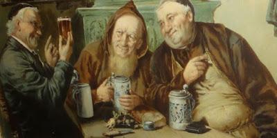 imagem dos monges Paulaner
