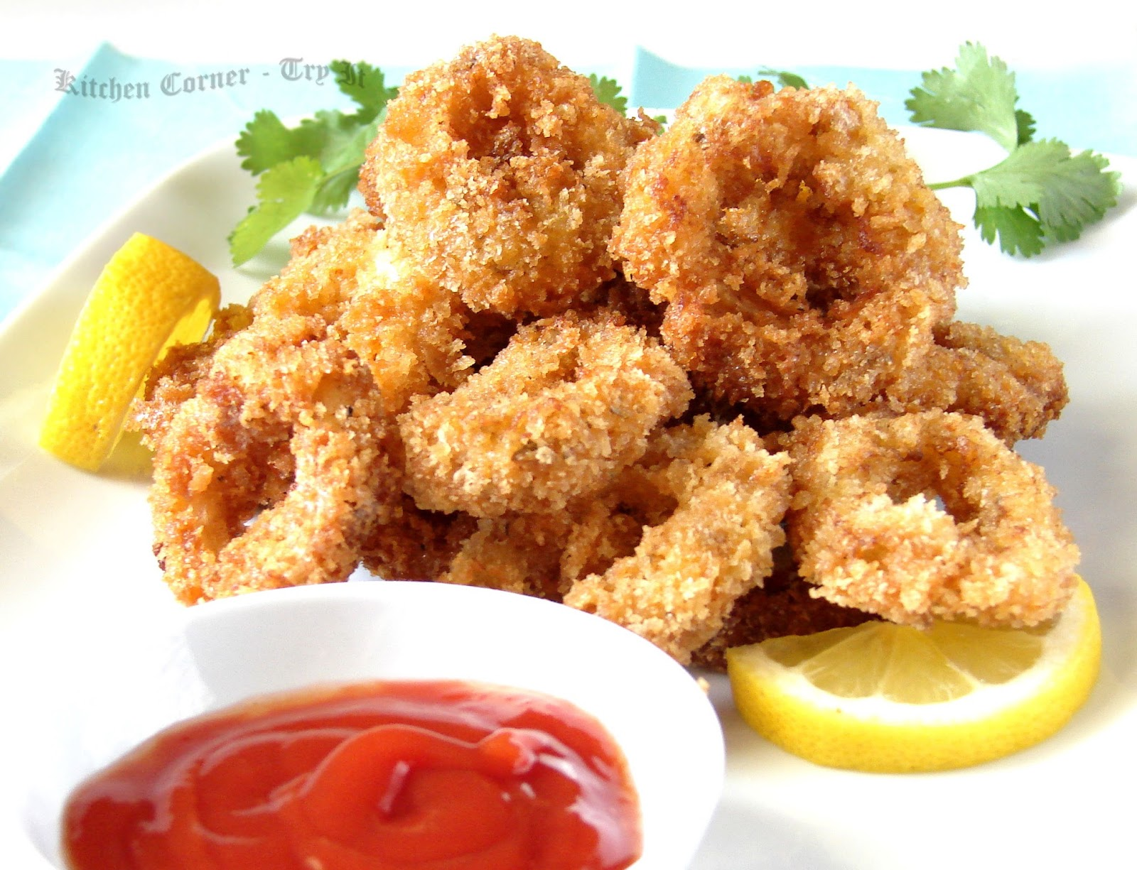 Kitchen Corner-Try It: Crispy Calamari/Squid Rings
