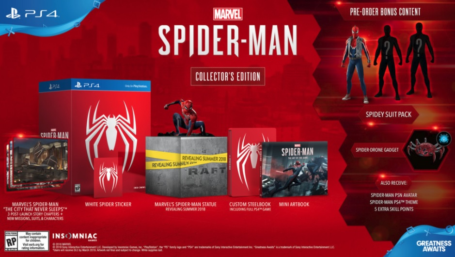 Spider Man Collector's Edition